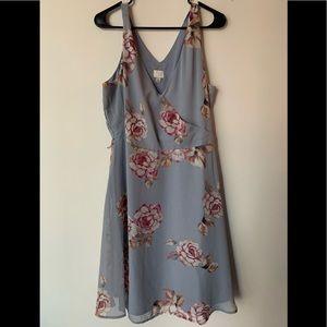 A new day dress floral sundress